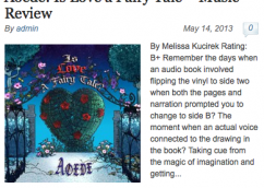 "Glowing Review of ""Is Love A Fairy Tale?"" from Hot Indie News!"
